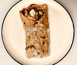 杂粮薄饼卷菜(6月减脂餐系列之九)的做法