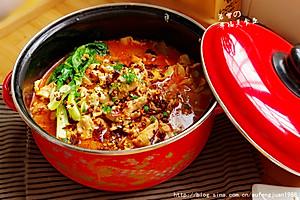 香辣劲爽的水煮肉片超鲜嫩秘法【家乐上菜,家常有味】【图片】