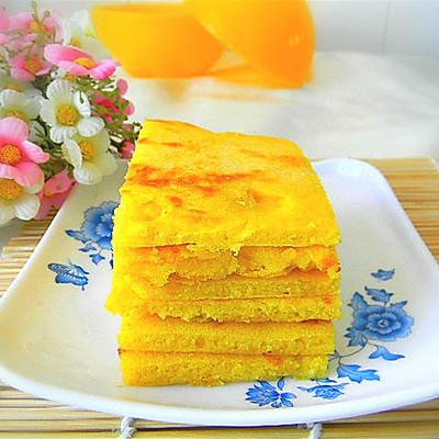 鲜奶玉米饼
