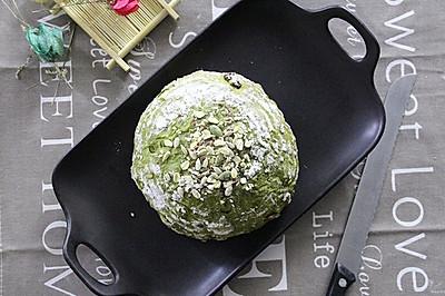将健康低卡进行到底-抹茶全麦多果料代餐面包