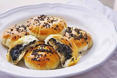 粤式老婆饼-千层芝麻酥饼