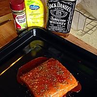 奥尔良风情烤鲟鱼片的做法图解4