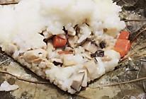 荷叶鸡饭的做法