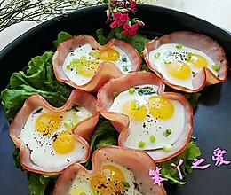 花样火腿鹌鹑蛋的做法