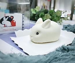 小白兔蛋糕/适合中秋节的甜品