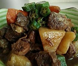 胡萝卜土豆红烧牛腱肉的做法
