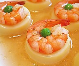 #格兰仕传家菜#【玉子虾仁】的做法