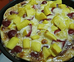 水果披萨6寸的做法