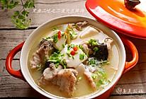 冬日养生鱼头豆腐汤的做法