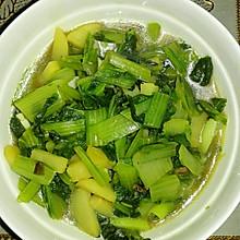 小白菜烩土豆