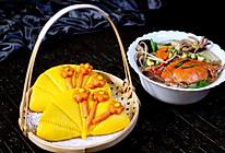 荷叶饼&大白菜炖海鲜#kitchenAid的美食故事#的做法