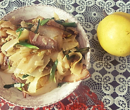 春笋腊肉的做法