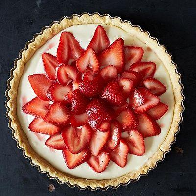 草莓乳酪挞