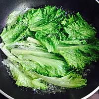 #春天肉菜这样吃#蚝油生菜的做法图解8