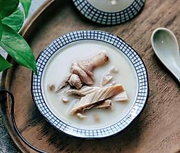 #洗手作羹汤#暖胃滋补汤: 胡椒猪肚鸡汤  熬出奶白汤的技巧的做法