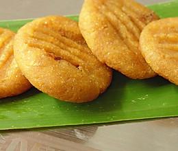 玉米香蕉饼干(电饼铛点心)的做法