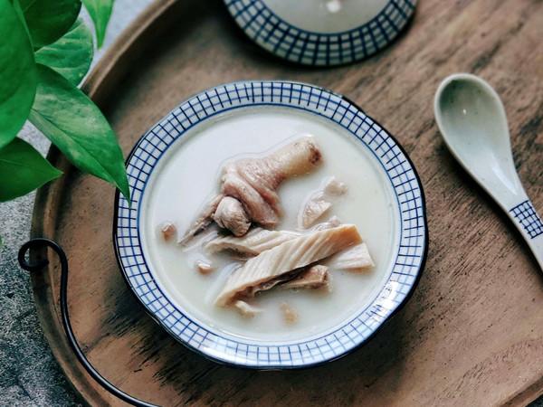暖胃滋补汤: 胡椒猪肚鸡汤  熬出奶白汤的技巧的做法