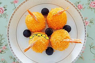 土豆虾球【烤箱制作】