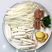 #一人一道拿手菜#低脂不胖,虾仁菌菇汤的做法图解3