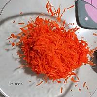 #秋天怎么吃#咸版胡萝卜蛋糕的做法图解2