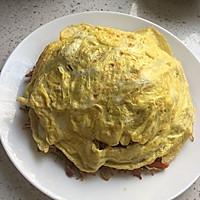 蛋包肉丝炒面的做法图解8