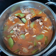香辣莴笋炖鸡火锅