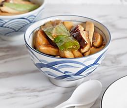 葱烧蘑菇,传统鲁菜的做法