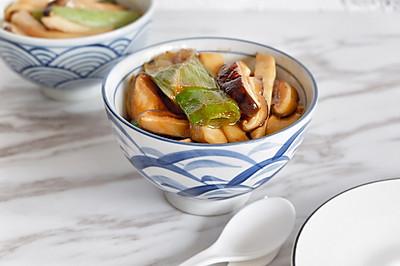 葱烧蘑菇,传统鲁菜