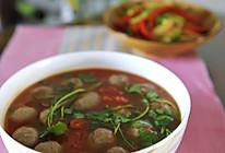 茄香牛肉丸的做法