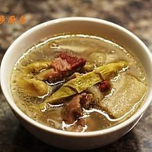曼步厨房 - 竹荪笋干老鸭煲