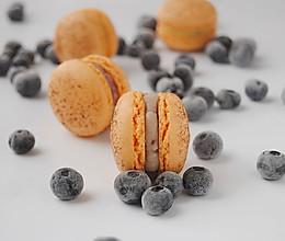 马卡龙夹心之白巧蓝莓馅的做法