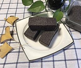 黑米蒸糕的做法