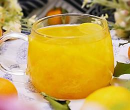 流金溢彩――柠香金桔饮的做法