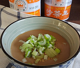 沙茶芝麻酱火锅蘸料的做法