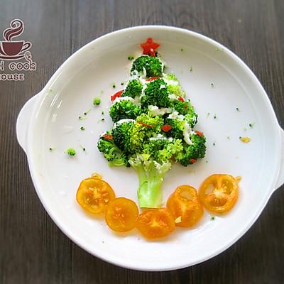 今年圣诞会下雪——圣诞雪树沙拉