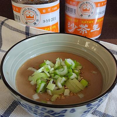 沙茶芝麻酱火锅蘸料