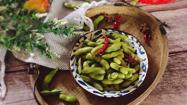 #精品菜谱挑战赛#五香盐水毛豆的做法