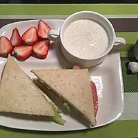上班族的营养早餐#急速早餐#