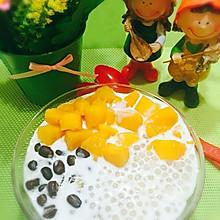 芒果红豆椰汁西米露