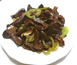 火腿炒牛肝菌的做法