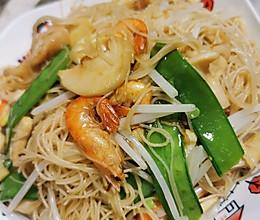 浙菜 炒米面 炒细粉的做法