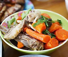#秋天怎么吃#胡萝卜炖羊排的做法