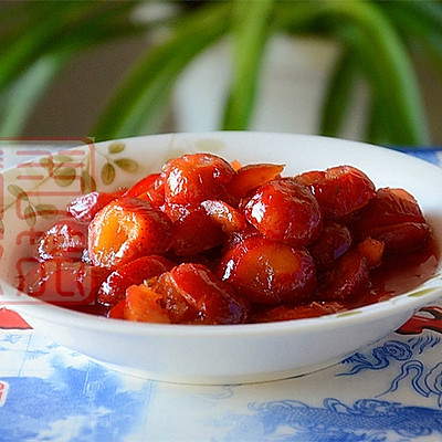 老北京炒红果