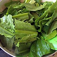 豆豉鲮鱼油麦菜的做法图解6