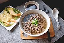 一碗清汤荞麦面的做法