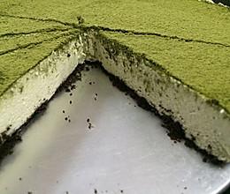 抹茶豆腐芝士蛋糕(免烤)的做法