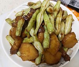 豆角土豆炖肉的做法