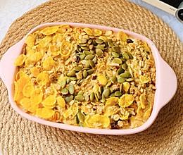 苹果烤燕麦,低热量高颜值营养满满的做法