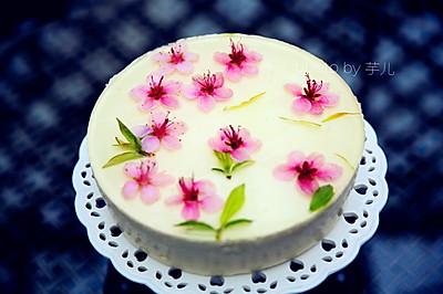 看《十里桃花》,品桃花酸奶慕斯蛋糕+