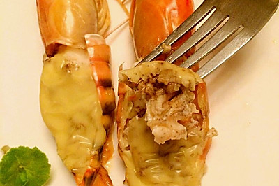 芝士焗大蝦